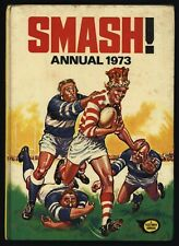 Smash! Annual 1973 UK Comic Book Hardcover Spine Intact Fleetway Books CBX13
