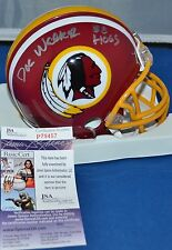 DOC WALKER AUTOGRAPHED 1982 MINI HELMET WASHINGTON REDSKINS SB XVII HOGS JSA