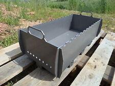 Schaschlik Grill, Mangal (Мангал) aus 3 mm Stahl (ST37) XL für unterwegs