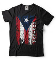 Puerto Rico T-shirt Boricua PR flag Shirt Puerto Rican heritage T-shirt