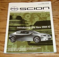 Original 2004 - 2005 Scion Winter Deluxe Sales Brochure 04 05 tC xA xB