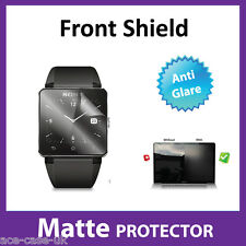 Sony Smartwatch 2 SW2 MATTE Anti Glare FRONT Screen Protector Military Shield