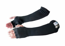 Cut & Heat Resistant Designer Arm Sleeves with Finger Openings made with Kevlar