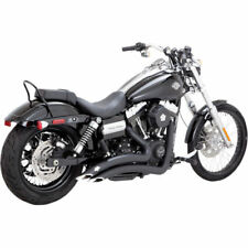 Vance & Hines Black Big Radius Exhaust for 2006-2017 Harley Dyna Models