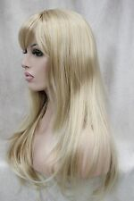 FIXSF937 long vogue fashion blonde mix straight health Hair wig cosplay Wigs