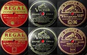 5 Original 78er Schellackplatten JAZZ/SWING - GLENN MILLER - Sammlung