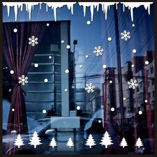 Wall Window Stickers Angel Snowflake Christmas Xmas Vinyl Art Decal Free P&P