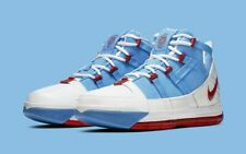 2019 Nike LeBron 3 Houston Oilers size 10.5 White Red Blue All-Star. AO2434-400