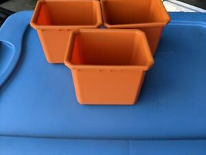 Lot of 3 Insert Cup Trays for RIDGID Pro Organizer Tool box 22 in Replacement