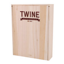 Twine Countertop Display Case Wood 2-1/2 in. H x 9 in. W x 12-1/4 in. L
