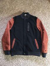 Nike Destroyer Tech Wool Men Bomber Varsity Jacket Large