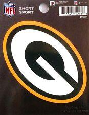"""Green Bay Packers 3"""" Flat Vinyl Sport Die Cut Decal Bumper Sticker Football"""