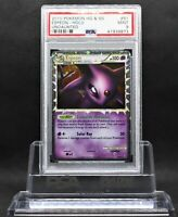 Espeon PRIME Holo PSA 9 MINT 2010 Undaunted 81 HGSS Graded Pokemon Card SWIRL
