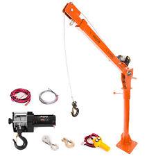More details for electric jib crane - 400kg / 882lb lifting hoist, 12v heavy duty - rhino - used