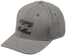 BILLABONG  All Day Stretch Mens Hat (NEW) Heather Grey Gray FREE SHIPPING : L/XL