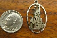 Vintage sterling silver DISNEYLAND PRINCES CASTLE WALT DISNEY WORLD charm