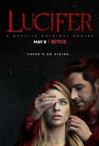 Lucifer poster (f)  -  11 x 17 inches - Tom Ellis