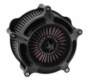 Roland Sands Turbine Air Cleaner - Black Ops Made In the USA 0206-2144-SMB