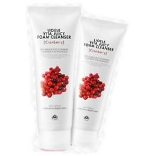 LIOELE Vita Juicy Foam Cleanser  150ml,  (Cranberry) , Free Shipping & Sample