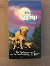 Disney's Benji The Hunted VHS Family Action