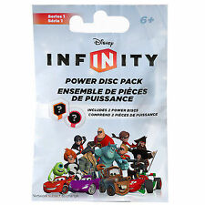 LOT OF (2) Disney Infinity Random Power Disc 2-Pack - NEW