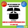 AUDI A5 5 PUERTAS Sportback 2010 + 5% Limusina