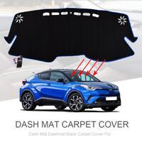 For Toyota CHR C-HR 2016 - 2019 Car Dash Mat Dashboard Cover Dashmat Pad Carpet