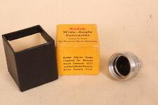 Vintage/Retro Lente Gran Angular Convertidor de Kodak. 13 Mm a 9 mm para Cámara Brownie película