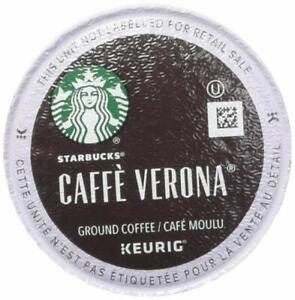 Starbucks Caffe Verona, Dark Roast Keurig Brewers  60 K-Cups