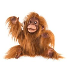 Baby Orangutan puppet by Folkmanis MPN 3106, Workable Mouth, 3 Years & Up