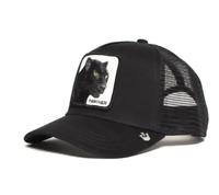 New Goorin Bros Animal Farm Black Panther Trucker Mesh Baseball Hat Snapback Cap