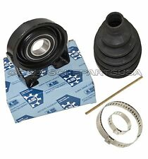 PORSCHE CAYENNE DRIVESHAFT CENTER SUPPORT BEARING + CV BOOT SUP DESIGN 955421020