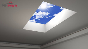TGS Sky Light Roof Light for Flat Roof 1000 x 1000 mm - Any Size