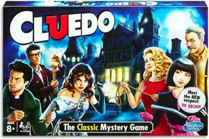 Cluedo The Classic Murder Mystery Board Game 4 Party
