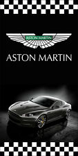 ASTON MARTIN AUTO DEALER VERTICAL AVENUE POLE BANNER SIGNS