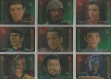 "30 Years of Star Trek Phase 2 - ""Undercover"" 9 Card Lenticular Chase Set #L1-9"