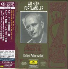 WILHELM FURTWANGLER-BRAHMS: SYMPHONY NO.1-JAPAN MINI LP SHM-SACD Ltd/Ed K25