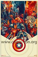 SDCC 2018 Mondo Marvel Avengers Exclusive Print