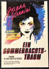 Ein Sommernachtstraum 1983 - Gianna Nannini - Original A1 Filmposter (M-6027+