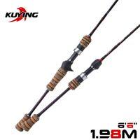 KUYING Teton L Light 1.98m 6'6'' Baitcasting Casting Spinning Lure Fishing Rod