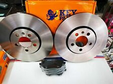 SKODA FABIA FRONT BRAKE DISCS AND PADS SET NEW *NEXT DAY DELIVERY*