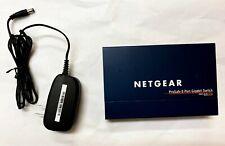 Netgear GS108 ProSafe 8-Port Gigabit Desktop Switch with Power Supply