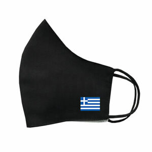 Greek Flag Protective MASK Covering Washable Reusable Breathable Greece