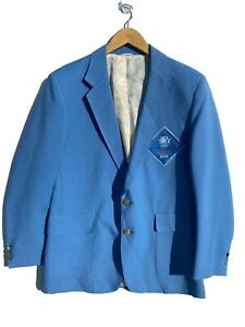 1984 los angeles olympics Olympian Levi's Blue Suit Jacket 42R Official Staff