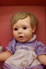 "Vintage 1985 Hasbro Judith Turner Real Newborn Wide Eyed Baby Doll 20"""