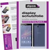 2x Sony Xperia Z Film de protection d'écran protecteur cristal clair