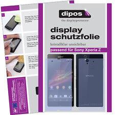 2x Sony Xperia Z Protector de Pantalla protectores transparente
