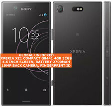 "SONY XPERIA XZ1 compatto G8441 impronte digitali di 4gb 32gb 19mp 4.6"" Android Smartphone"
