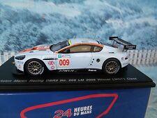 1/43 Spark ASTON MARTIN Racing DBR9 #009 LM 2008  winner LMGT1 Class