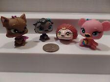 BRATZ Petz Lot ~ Lil' Angelz Doctor Bobble Heads Kitty Cats Bear & Hedgehog LPS